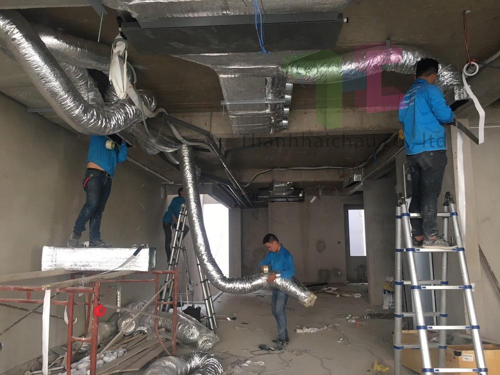 Máy lạnh nối ống gió 10 HP