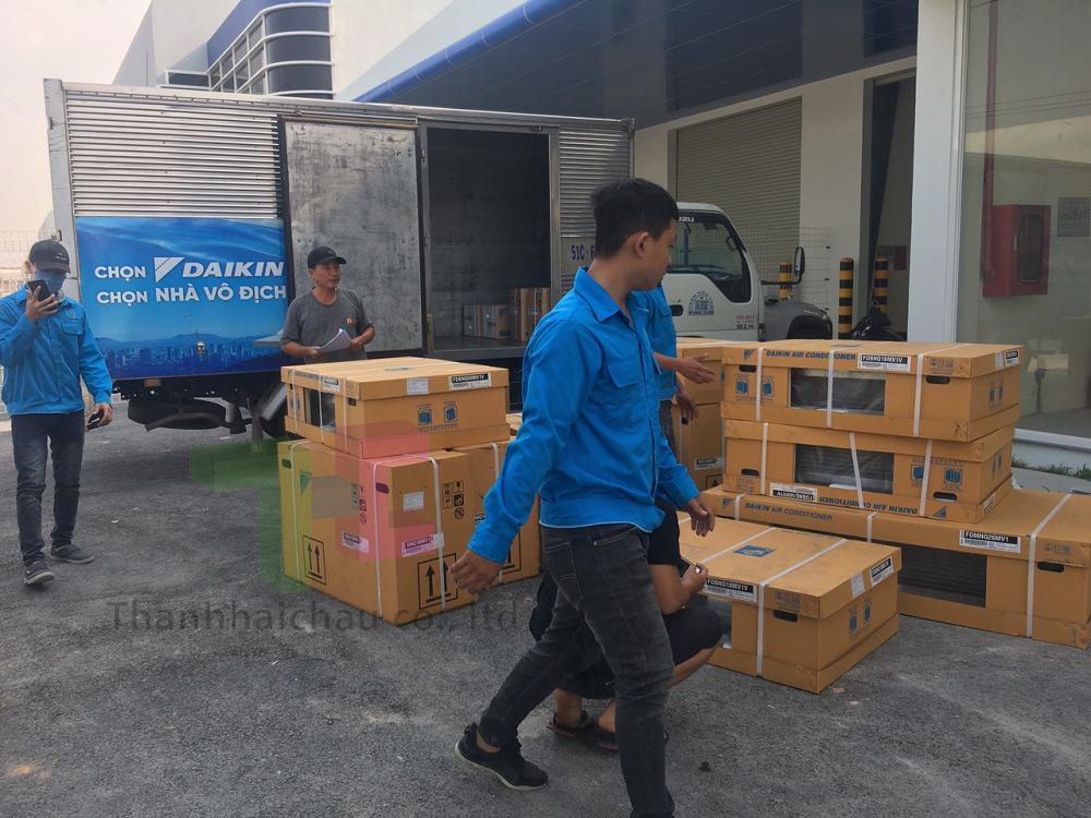 Lắp đặt máy lạnh giấu trần Daikin tại Bình Dương