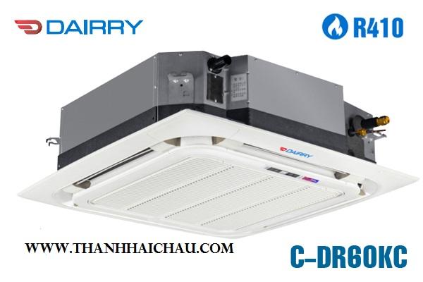 Máy lạnh âm trần Dairry C-DR60KH công suất 55.000 Btu/h 6 HP gas R410a