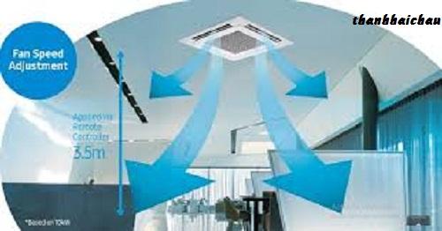 tối ưu luồng gió cho trần nhà
