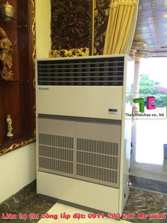 máy lạnh tủ đứng Daikin dành cho nhà xưởng