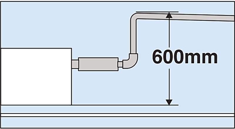 bớm nước xả máy lạnh giấu trần mitsubishi
