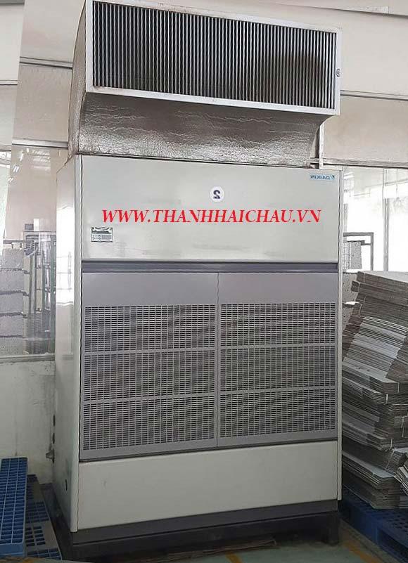 Máy lạnh tủ đứng nối ống gió cho nhà xưởng