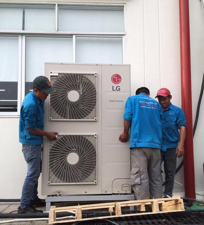 Thi công lắp đặt máy lạnh các loại