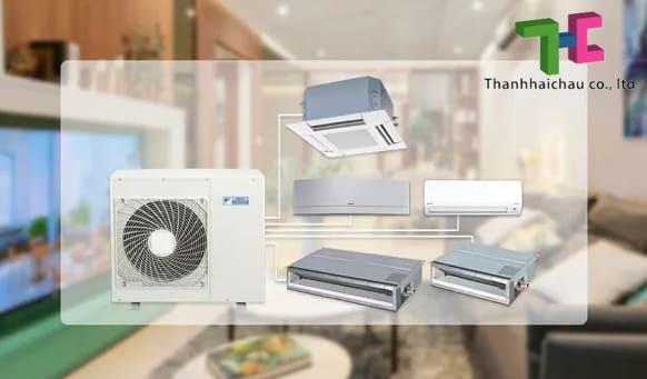 máy lạnh multi đa dàn lạnh