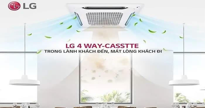 Giá máy lạnh âm trần LG inverter - nơi bán máy lạnh cassette rẻ nhất