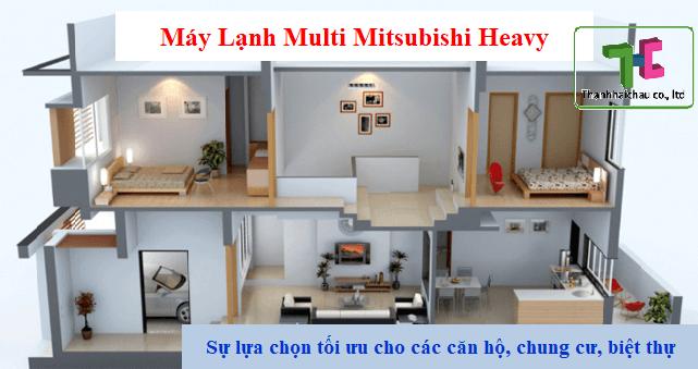 Tìm hiểu chi tiết máy lạnh multi Mitsubishi Heavy có nên mua không?