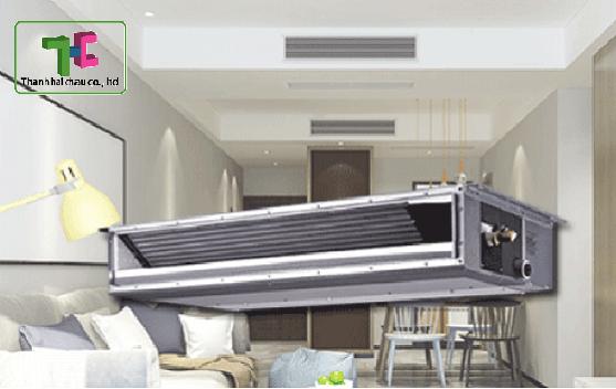 Tìm hiểu tính năng máy lạnh điều hòa giấu trần nối ống gió LG