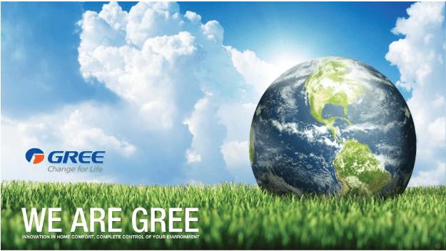 Máy lạnh Gree - thương hiệu điều hòa nổi tiếng thế giới