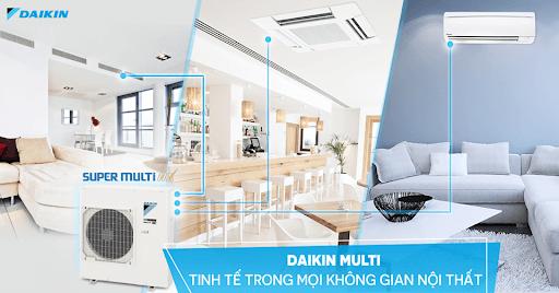 Tham khảo bảng giá máy lạnh điều hòa multi Daikin - siêu rẻ