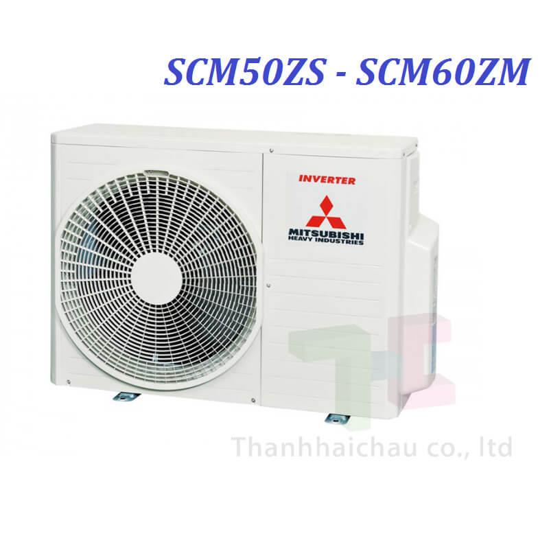 Dàn Nóng Máy Lạnh Multi Mitsu Heavy SCM50ZS-S 2 HP 17100 Btu