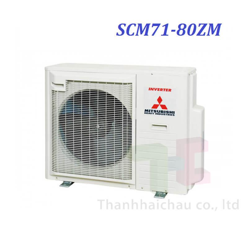 Dàn Nóng Máy Lạnh Multi Mitsu Heavy SCM71ZM-S1 3 HP 24200 Btu