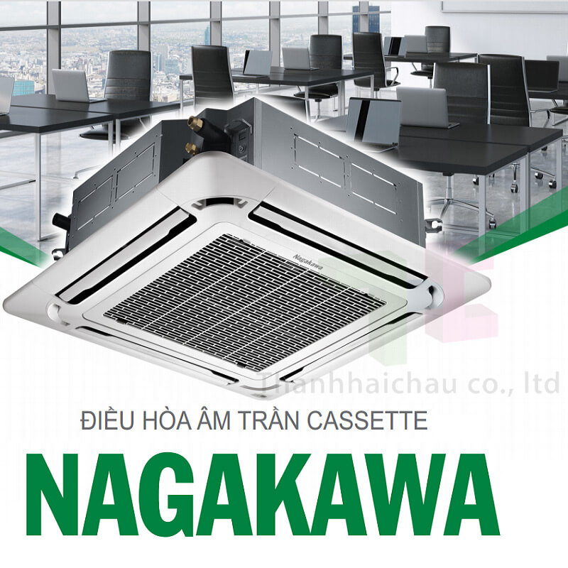 Máy lạnh âm trần Nagakawa NT-C36R1M03 36000 btu 4 HP