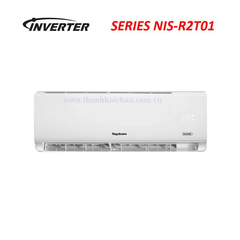 Máy lạnh treo tường Nagakawa NIS-C09R2T01 1 HP 9000 Btu inverter