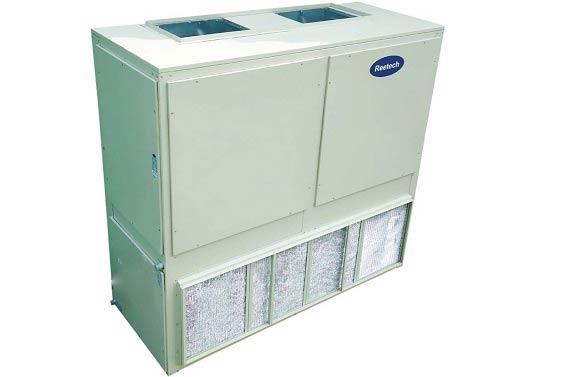 Máy lạnh tủ đứng Reetech RDS320‑L1A 32 HP nối ống gió