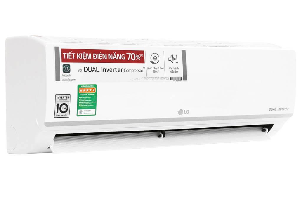GIÁ SỐC MÙA DỊCH khi mua máy lạnh treo tường LG V10ENW tại tp. HCM