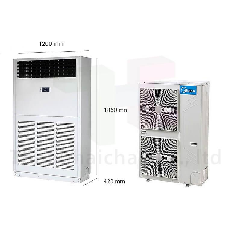 Máy Lạnh Tủ Đứng Midea MFA-96CRDN1 10 HP Inverter R410A